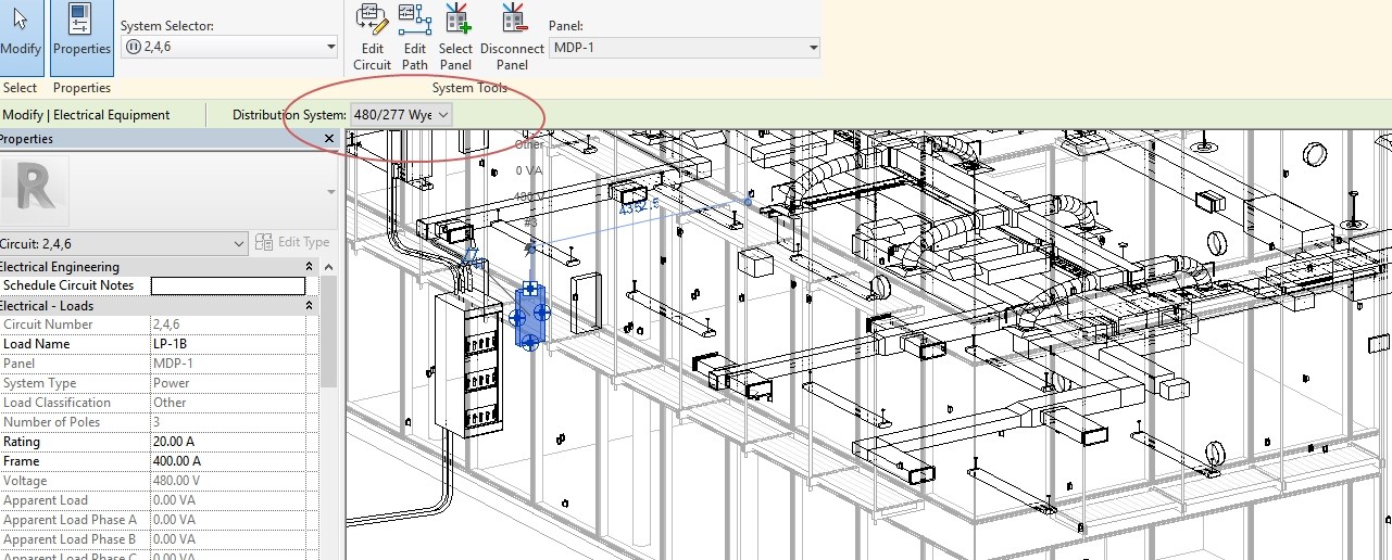 Sensational Setting Up A Electrical Distribution In Revit Wiring 101 Capemaxxcnl